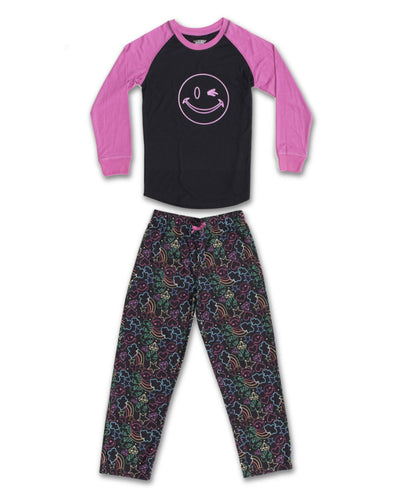 EVERY DAY VALUE - Girls Pajamas | Neon Dreams - Joe Boxer
