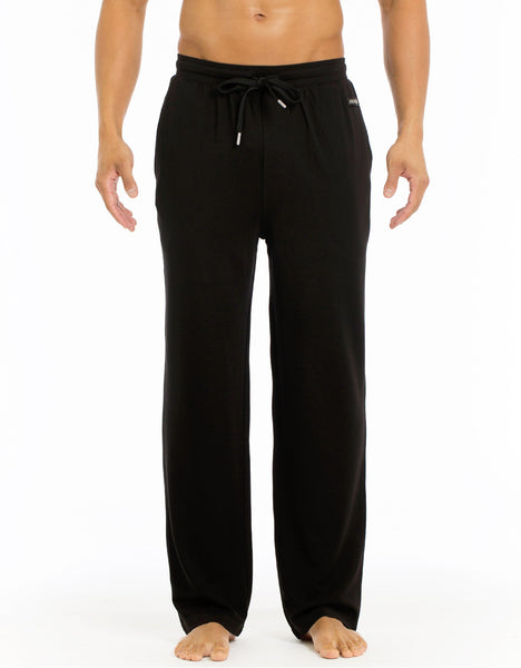 Modern Lounge Straight Leg Pant - Black
