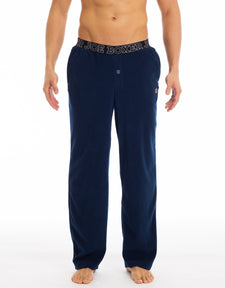 Men's Microfleece Pants | Navy