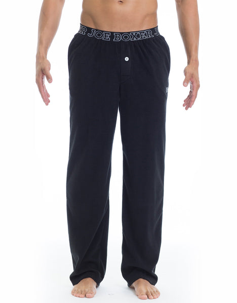 Microfleece Lounge Pant - Black