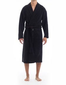 Microfleece Robe - Black