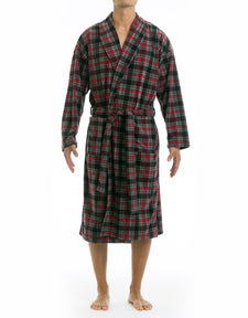 Microfleece Robe - Red Robin