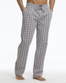 Men's Pajama Pants | Poplin Grey Check