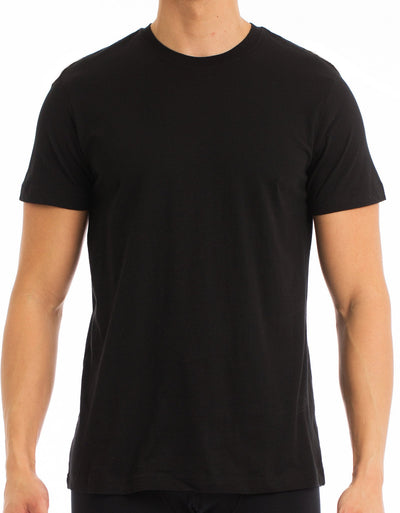 EVERYDAY VALUE -Men's T-Shirt | Crew Neck Black 8-Pack - Joe Boxer