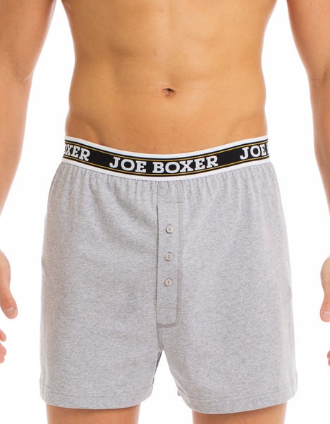 Grey 2 Pack Classic Boxer