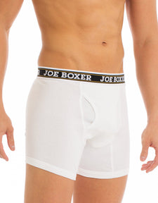 Men's Boxers Briefs | White 6-Pack