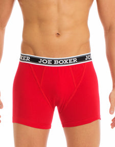 Men's Boxer Briefs | Red 2-Pack Low-Rise