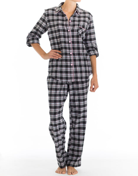 Diva Flannel PJ Set