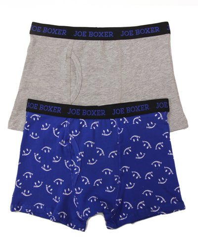 EVERY DAY VALUE - 2-Pack Smileys Boys Boxer Briefs - Joe Boxer