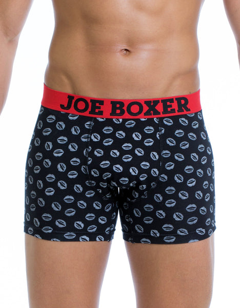 Pucker Up Fashion Fitted Boxer