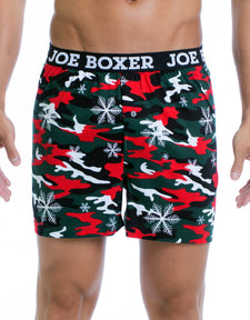 Xmas Camo - Fashion Boxer