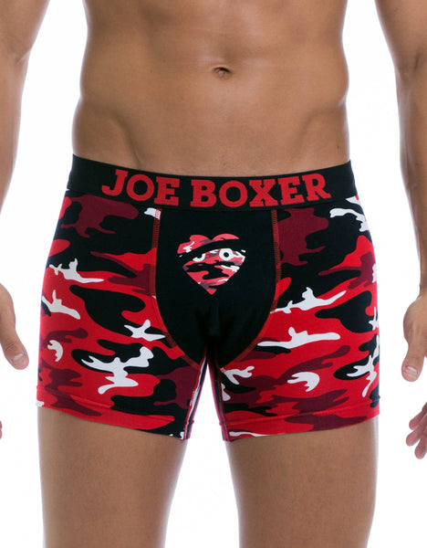 Love Hurts Fashion Fitted Boxer