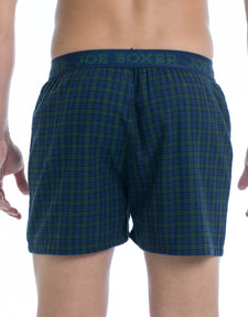 Knight Plaid Flannel Boxer