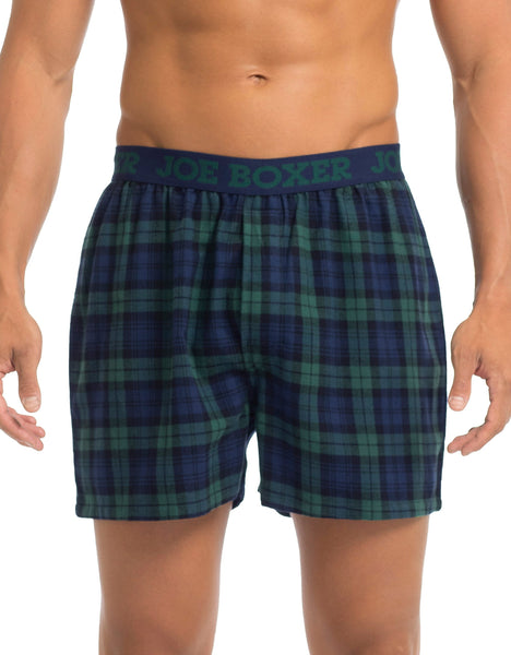 Men's Boxers | Blackwatch Flannel Boxer