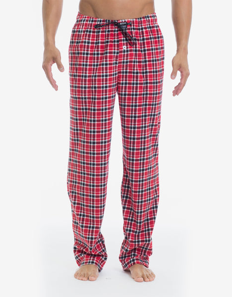 Microfleece Pant - Red Plaid