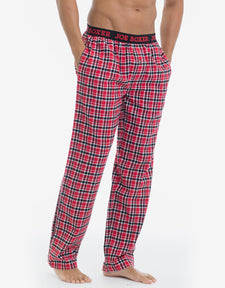 Flannel Pant - Red & Black Plaid