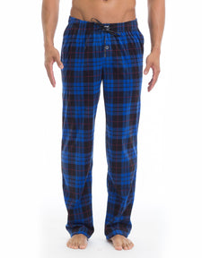 Microfleece Pant - Blue Plaid