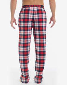 Flannel Pant - Red & White Plaid