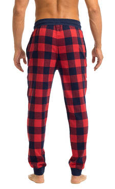 Men's Joggers | Red Buffalo Flannel