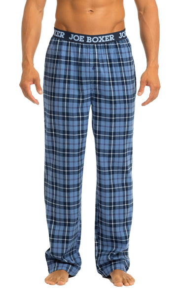 Men's Pajama Pants | Blue Flannel