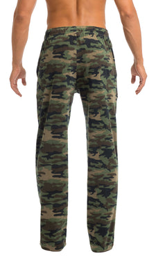 Men's Microfleece Pants | Camo