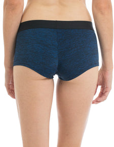 Space Dye Blue Boyshort