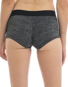 Women's Boyshorts Underwear | Space Dye Grey