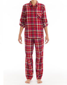 Sunday Morning  Flannel Pyjama Set