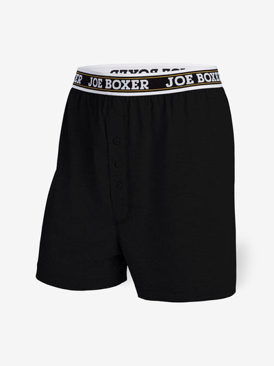 EVERYDAY VALUE -Men's Boxers | Classic Black 6-Pack - Joe Boxer