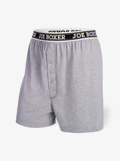 EVERYDAY VALUE -Men's Boxers | Classic Grey 6-Pack - Joe Boxer