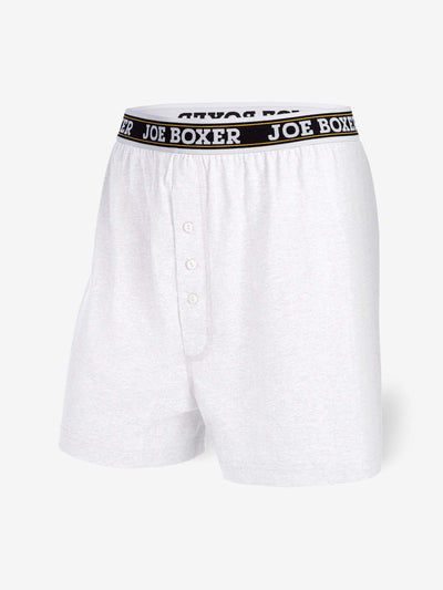 EVERYDAY VALUE -Men's Boxers | Classic White 6-Pack - Joe Boxer