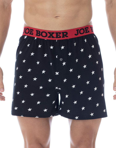 Black Star Christmas Loose Boxer