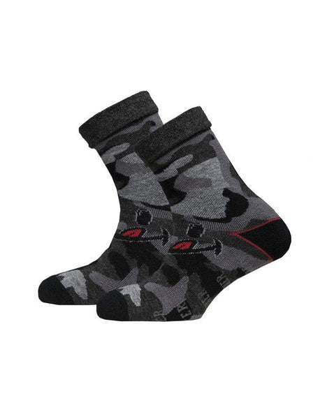 Men's Wool Socks | Camo Licky Face