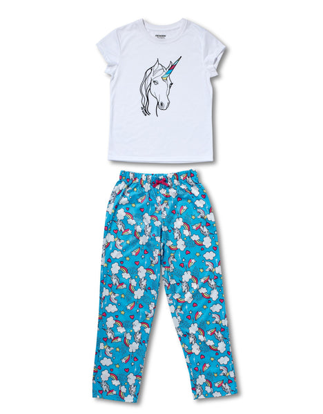 Girls Pajamas | Unicorn