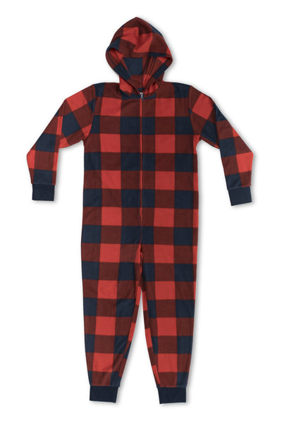 EVERY DAY VALUE - Kids Unisex Onesie | Buffalo Check - Joe Boxer
