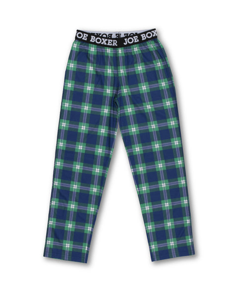 Boys Sleep Pants | Blue Check