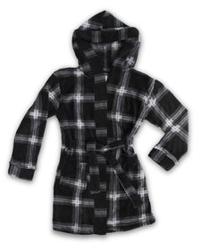 EVERY DAY VALUE - Boys Robes | Black Check