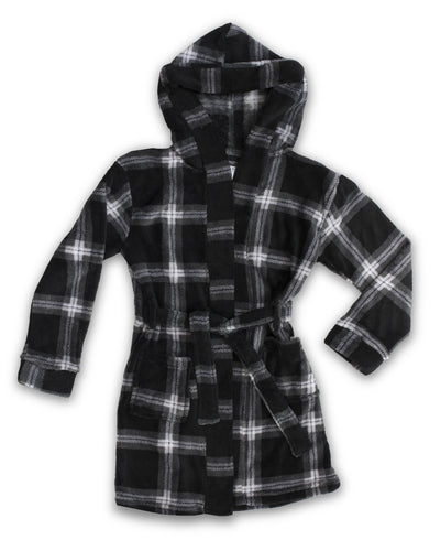 EVERY DAY VALUE - Boys Robes | Black Check - Joe Boxer