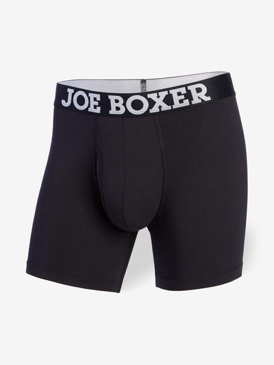 JUNK DRAWER BOXER BRIEF | BLACK - Joe Boxer