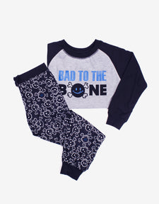 Bad to the Bone Tee and Pant Set