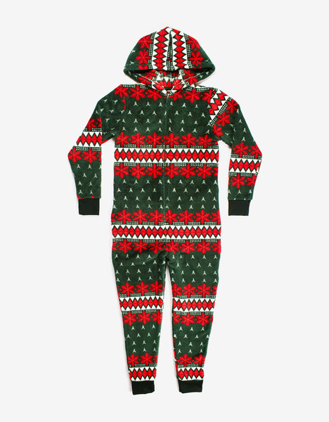 Let It Snow Boys Onesie
