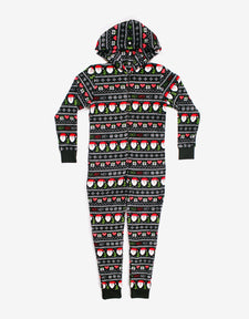 Ho Ho Ho Girls Onesie