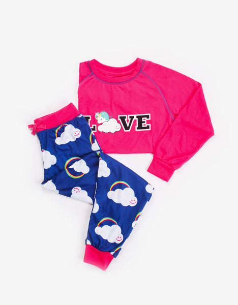 Love Tee and Pant Set