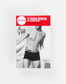 Men's Trunks | Black & Red 6-Pack