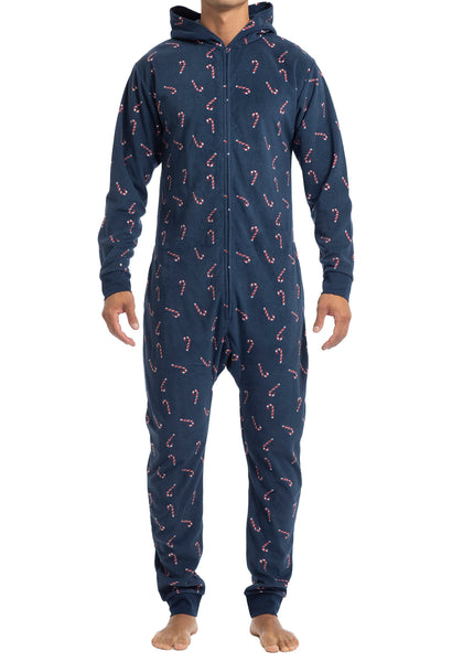 Men's Onesies | Candy Cane