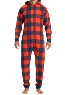 Men's Onesies | Buffalo Check