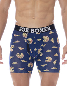 Pizza Party Junk Drawer Fitted Boxer