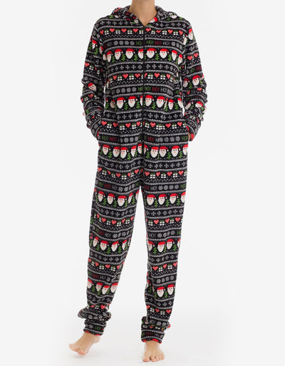 Ho Ho Ho Ladies Onesie - Joe Boxer