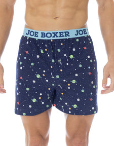 Outerspace Fashion Loose Boxer