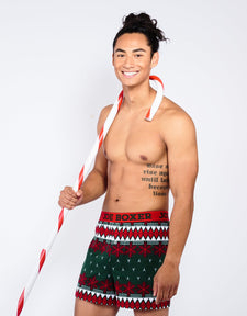 Let It Snow Fashion Boxer